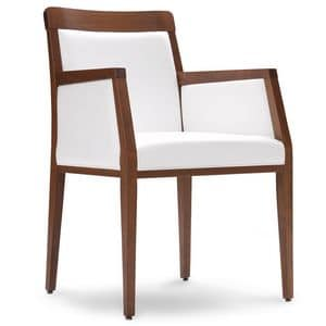 PL 49 ER, Chair with wooden frame, for Sitting room