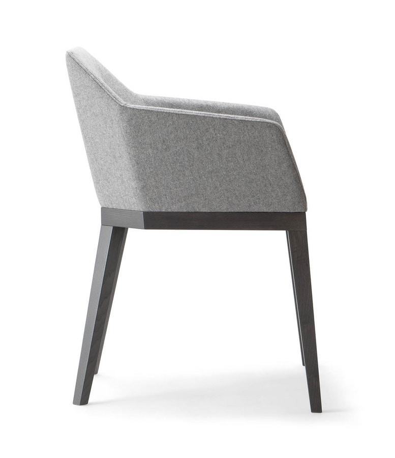 ROCK ARMCHAIR 020 PO, Comfortable armchair