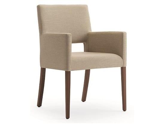 Selene-P1, Small armchair for elegant hotels