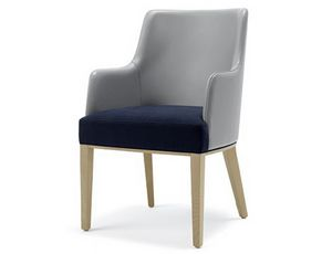 Tina-P1, Padded armchair with customizable upholstery