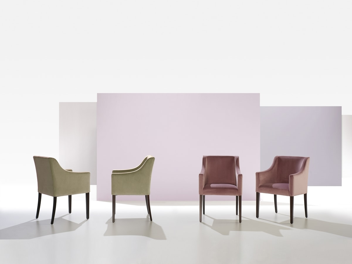 Valencia, Modern chair, for hotel and restaurant