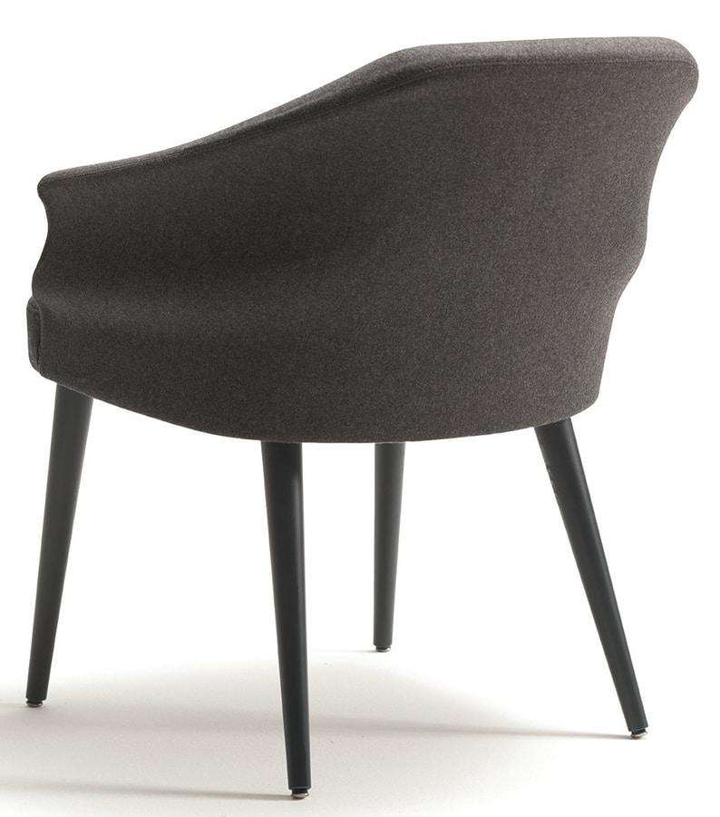Wilma-P, Fireproof armchair for restaurants