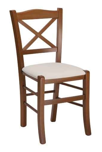 111, Restaurant chair, with customizable seat