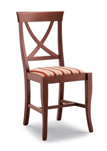113, Chair in beech wood, for restaurant and bar