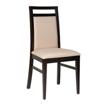 312 B, Chair for restaurant and hotel, made of beech wood