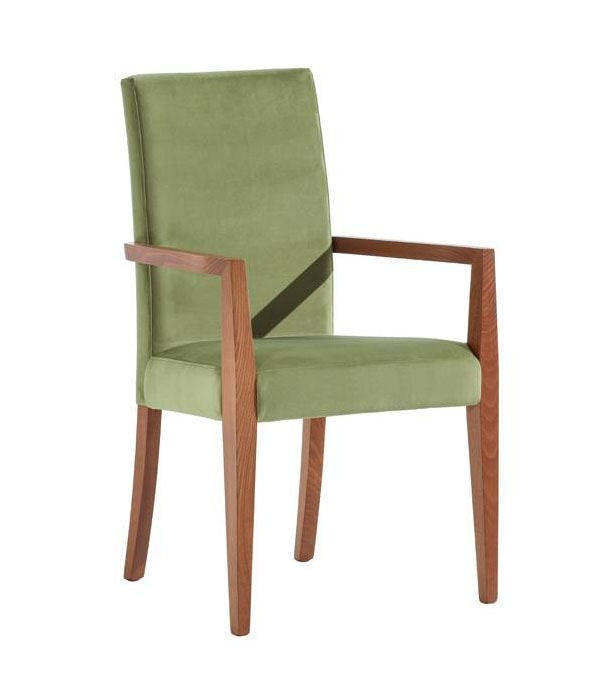 C03P, Modern chair with armrests
