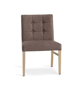 Carol/S, Buttoned backrest chair
