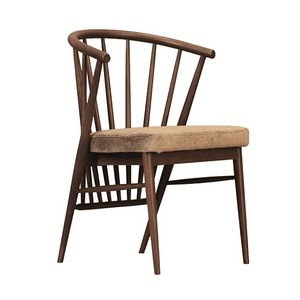 Jenny 5102/F, Chair with backrest with slats