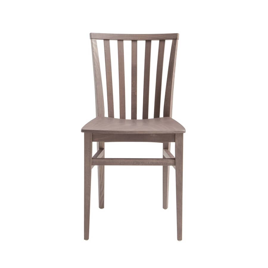 MP47X, Chair with vertical slatted backrest