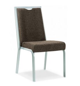 Simbia, Stackable padded chair for banquets and restaurants
