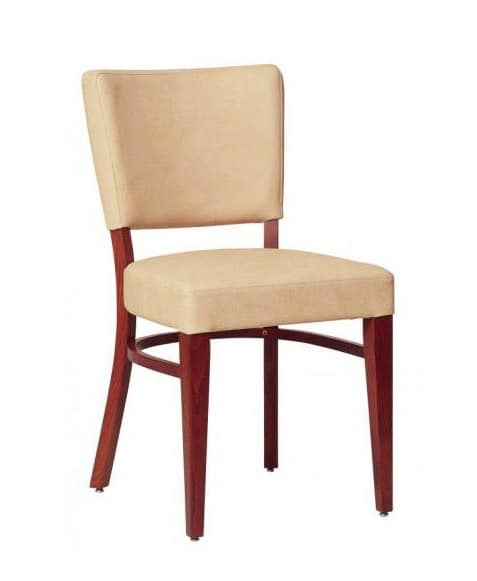 302, Dining chair with beech frame, for living-room