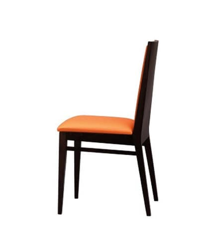 333, Dining Chair, solid, padded, for pizzeria