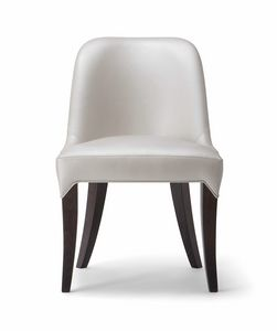 ALYSON SIDE CHAIR 048 S, Sinuous and welcoming chair