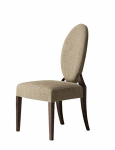 Amadeus chair, Chair with oval backrest
