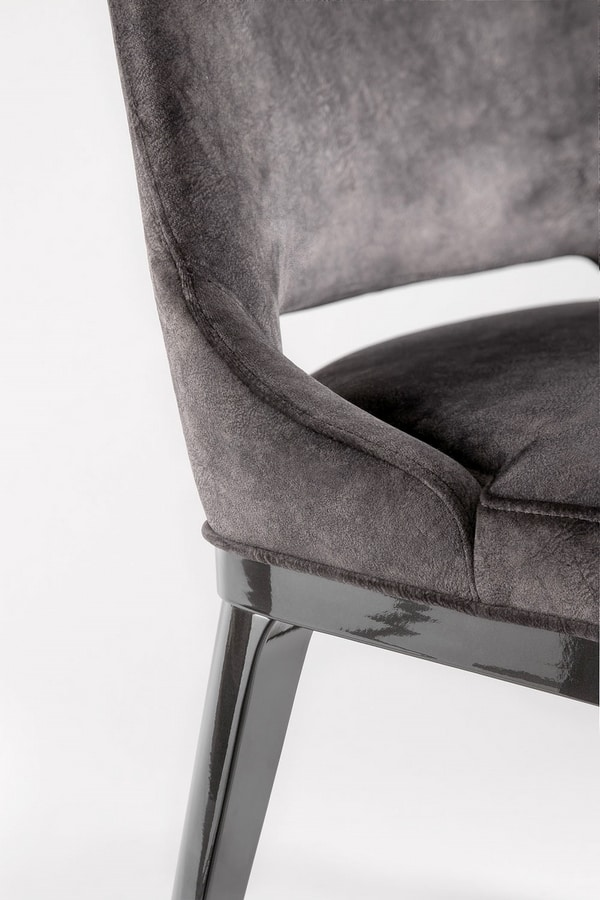 ASPEN SIDE CHAIR 078 S, Contemporary design chair