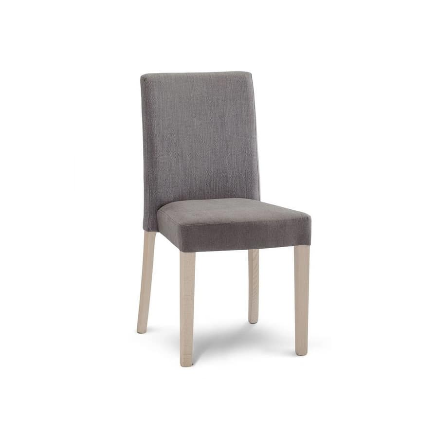 C61, Upholstered chair for dining room