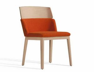 Concord 522WM, Padded wooden chair, for hotels and hospitality market
