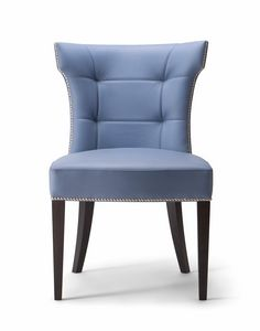 DEVON SIDE CHAIR 049 SA, Upholstered chair with a refined design