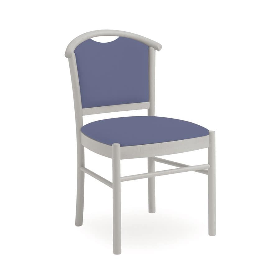 Dolly L1047 M, Wooden chair, comfortable and handy, for restaurant