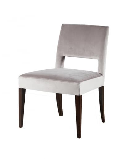 Downtown chair, Upholstered chair in solid beech