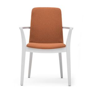 Light 03221, Wooden chair with arms, strong and durable
