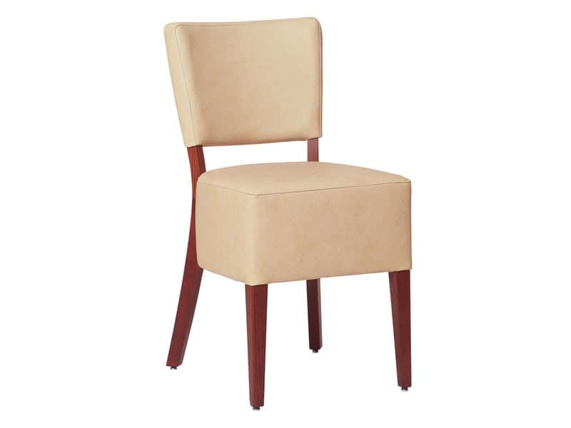 Marsiglia/S/1, Padded dining chair for restaurants