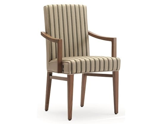 Milena-P, Dining chair with armrests