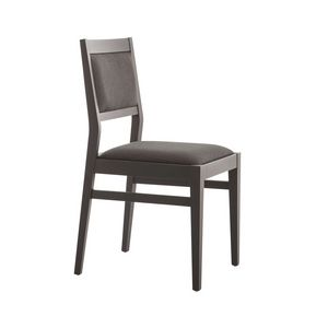 MP473D, Upholstered chair for restaurant
