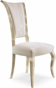 Raffaello chair, Solid wood chair padded
