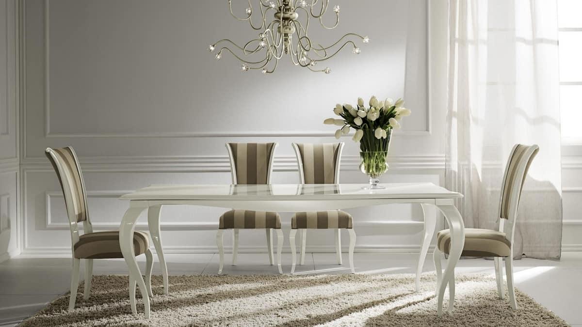 Raffaello chair, Solid wood chair padded