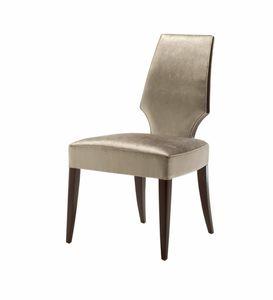 Vendome chair, Chair with high backrest for restaurant