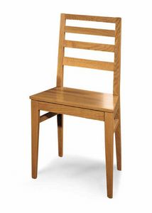 Art. 192/S, Chair with backrest with horizontal slats