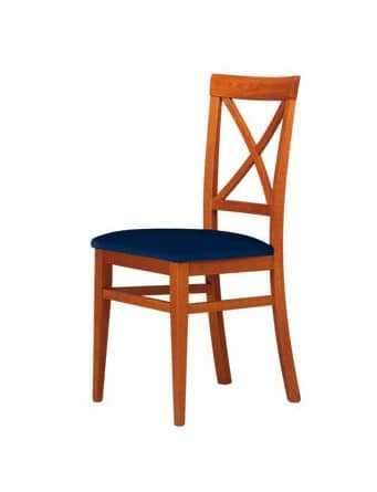 C06, Chair in beech wood for contract and domestic use