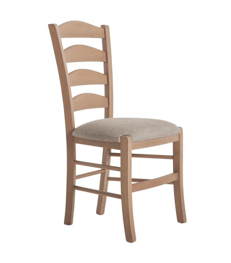 RP4793, Upholstered chair for restaurant