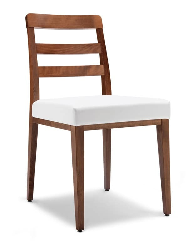 SE 49 / F, Dining chair, backrest with horizontal slats, for bars