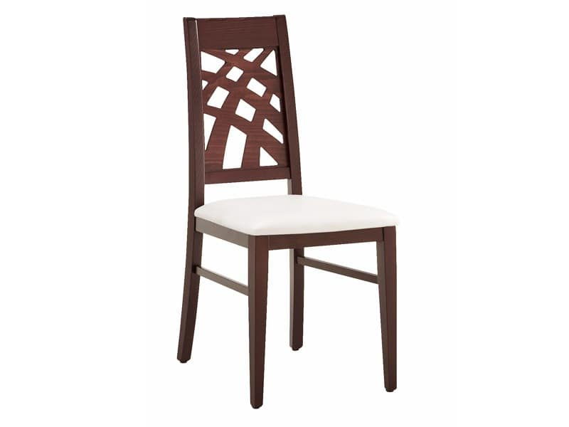 SE 490 / D, Dining chair, linear, in wood, to Stays