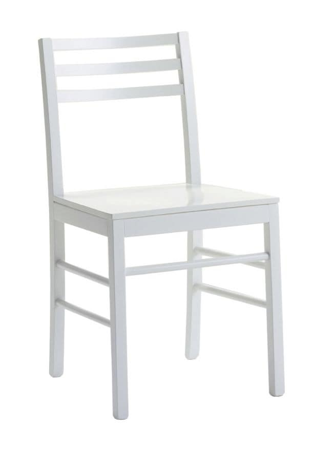 Us Foggia, Wooden chair for kitchens, modern chair for home