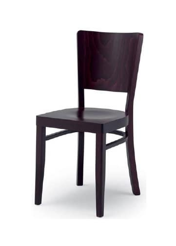 300, Chair in wood for residential and contract use