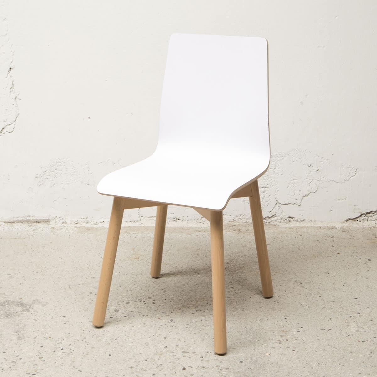 Chair Bolz, Removable chair, resistant to scratches and shock