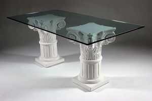Corinto, Greek style dining table