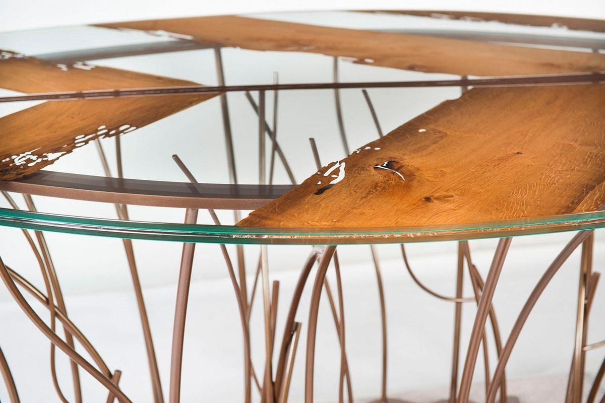Leaf Venezia, Table with leaf-shaped top