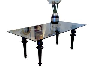 XC-01, Dining table with glass top