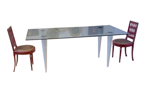 XC-06, Table with glass top