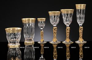 COSTE glassware, Luxurious crystal and pure gold glassware