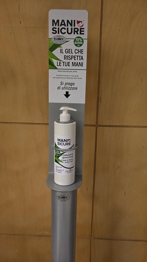 LEAP 2020 MA04, Manual dispenser holder, anti-covid