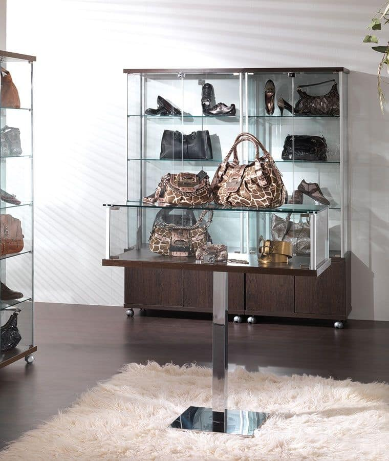 ALLdesign 1/PF, Contemporary display cabinet, exhibitor for shops