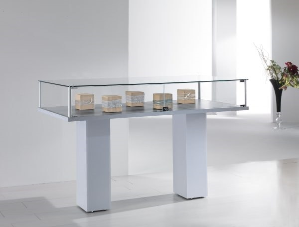 ALLdesign 4/PL, Display cabinet, with double base