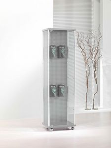 ALLdesign 53/BL, Shop display cabinet, with blistered back