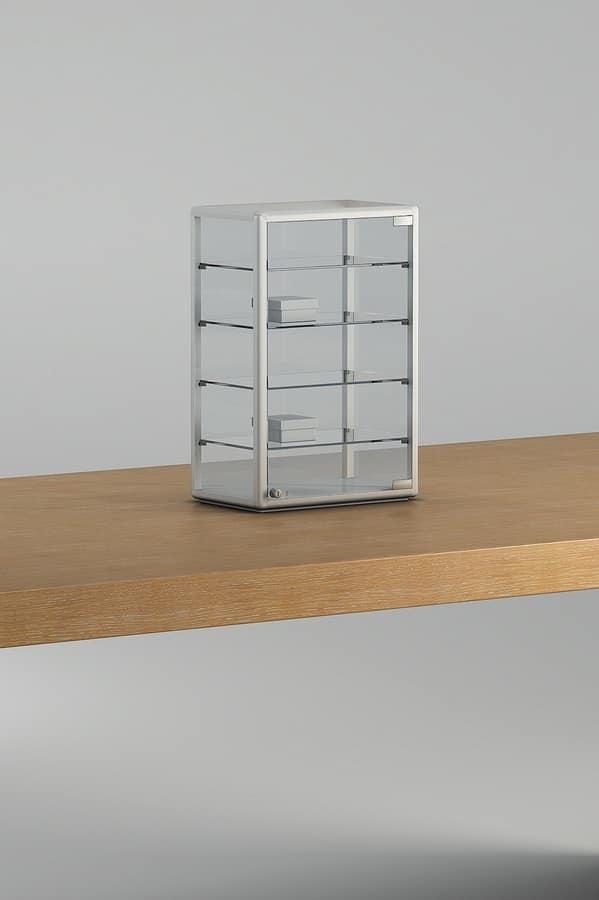 ALLdesign plus 4/6P, Countertop showcase, for shop counters