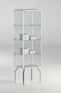 ALLdesign plus 51/17P, Showcase for shop, with aluminum profiles